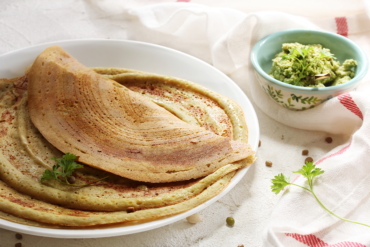 Pearl millet dosai