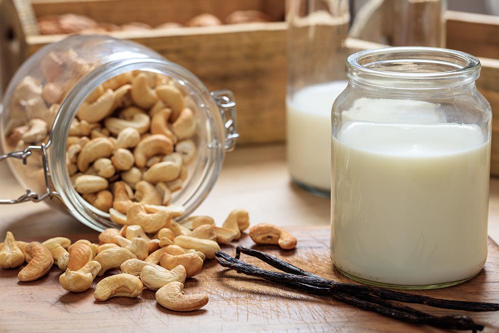 cashew nut milk