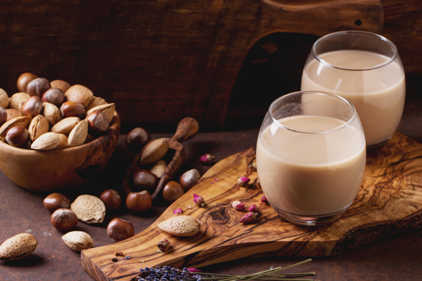 nutritious vegan nut milk options