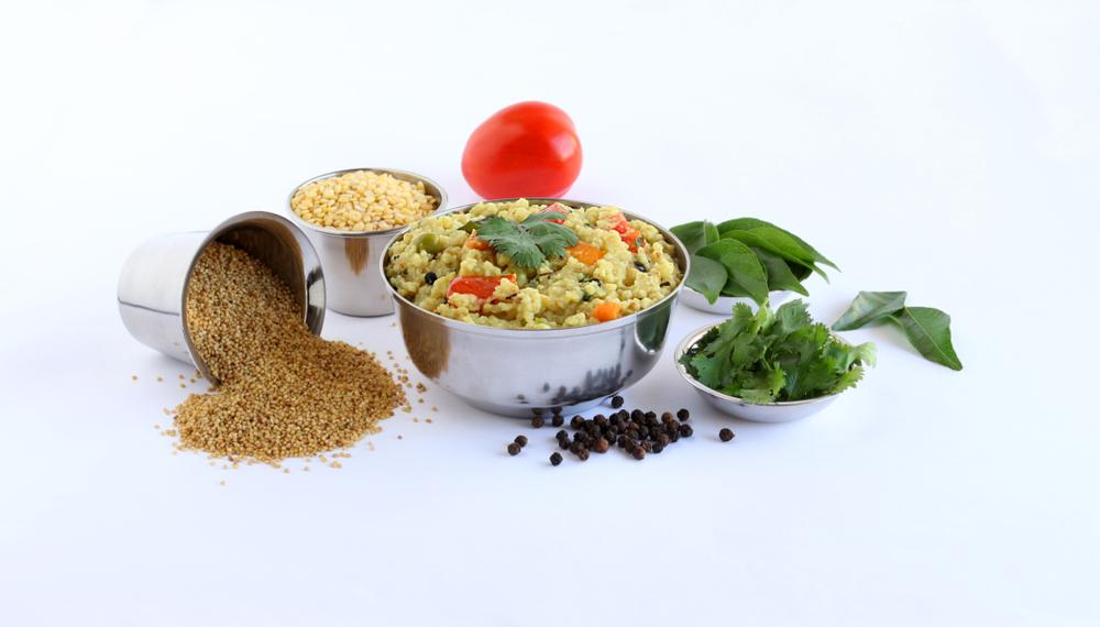Foxtail Millet Khara Pongal