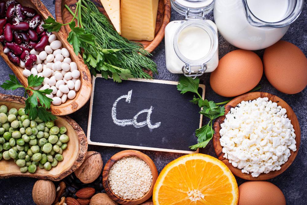 Set Food That Rich Calcium